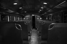 Free Grayscale Photography Of Train Car Interior Stock Photo - 82934170