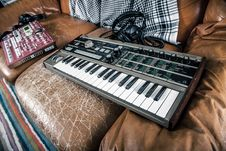 Free Synthesizer And Mixer Stock Image - 82934251
