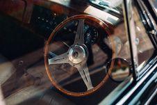 Free Steering Wheel Inside Auto Stock Image - 82935211