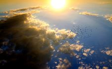 Free Birds Flying In The Sky During Daytime Royalty Free Stock Images - 82935799