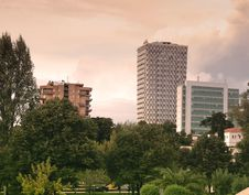 Free High Rise Buildings Near Green Leaf Trees Under White Sky During Daytime Royalty Free Stock Image - 82936626