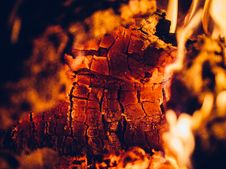 Free Closeup Of Fire Royalty Free Stock Photos - 82938458