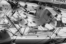 Free White And Black Boat Stock Image - 82938551