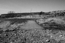 Free Bridge Over Stream Stock Images - 82939174