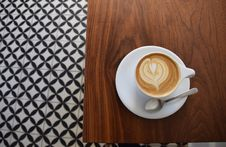 Free Cup Of Cappuccino Coffee Stock Photos - 82945083