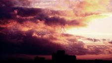 Free Sunset And Storm Clouds  Stock Images - 82945304