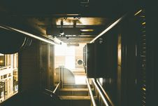 Free View Down A Lift Shaft Stock Photo - 82945520
