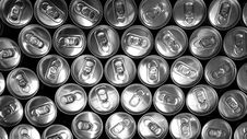 Free Aluminum Cans Royalty Free Stock Image - 82946776
