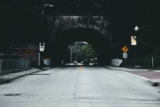 Free Cars On Road Under Tunnel During Daytime Royalty Free Stock Photo - 82947335
