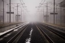 Free Train Tracks Royalty Free Stock Photo - 82947885