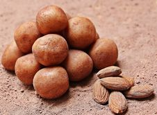 Free Almonds And Potatoes Royalty Free Stock Photography - 82947967