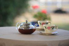 Free Tea Table Royalty Free Stock Photo - 82949455