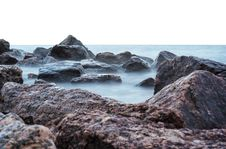 Free Sea And Rocks Royalty Free Stock Photography - 82949507