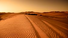Free Tracks Through Desert Stock Images - 82949674