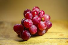 Free A Bunch Of Fresh Red Grapes Stock Image - 82950191