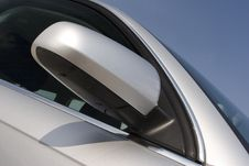 Free Silver Car Door And Mirror Royalty Free Stock Photography - 82950477