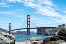 Free Golden Gate Bridge In San Francisco California Under Blue Sky During Daytime Royalty Free Stock Images - 82950519