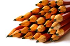 Free Pile Of Wooden Pencils Royalty Free Stock Images - 82950789