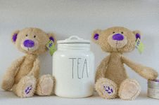 Free Teddy Bears And Tea Royalty Free Stock Photography - 82951177