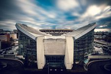 Free White And Gray Concrete Stadium Royalty Free Stock Image - 82951436
