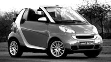 Free Silver And Gray Smart Forto Coup Stock Photo - 82951510