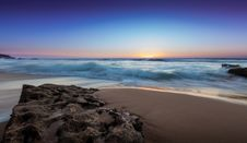Free Sun Setting Over Beach Stock Photos - 82951643