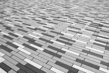 Free Brick Abstraction In Black And White Royalty Free Stock Image - 82951706