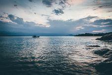 Free Boat On Horizon Stock Photo - 82952010