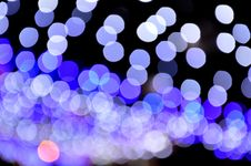Free Blue Bokeh Lights Stock Image - 82952031