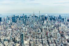 Free Manhattan Skyline Royalty Free Stock Images - 82952239