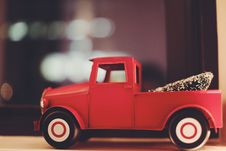 Free Red Toy Truck Royalty Free Stock Photos - 82952268