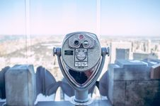 Free Viewfinder Over Urban Skyline Royalty Free Stock Images - 82952389