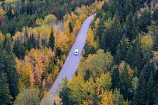 Free White Car Traveling Near Trees During Daytime Royalty Free Stock Photos - 82952578