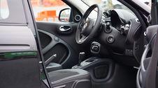 Free Interior Of Luxury Automobile Stock Photos - 82953203