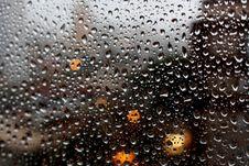 Free Full Frame Shot Of Raindrops On Glass Window Stock Image - 82953211