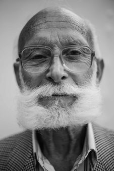 Free Old Man With Glasses Stock Photos - 82953643