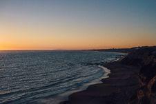 Free Sunset Along Beach Stock Photo - 82953820
