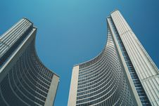 Free High Rise Buildings On Low Angle Photography Stock Photography - 82954032