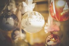 Free Close-up Of Christmas Decoration Royalty Free Stock Photography - 82954067