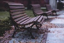 Free Empty Benches Royalty Free Stock Image - 82954226