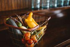 Free Basket Of Vegetables Stock Photos - 82954453