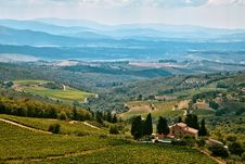 Free Rural Landscape In Tuscany Royalty Free Stock Photos - 82954808