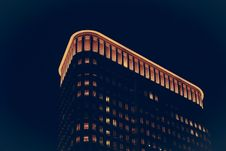 Free High Rise Building At Night Royalty Free Stock Photo - 82955095