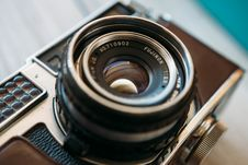 Free Fuji Vintage Camera Royalty Free Stock Image - 82955976
