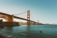 Free Golden Gate Bridge And San Francisco Bay, California Royalty Free Stock Photos - 82956138