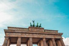 Free Brandenburg Gate, Berlin, Germany  Stock Photography - 82956512