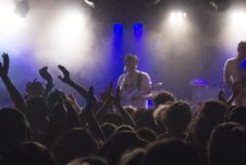 Free Concert With Audience Royalty Free Stock Image - 82956956