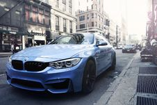 Free BMW M4 Auto On City Streets Stock Photos - 82957143