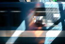 Free Blur Of Train Through Station Stock Photo - 82957370