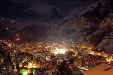 Free Metropolis City During Night Stock Photos - 82957413